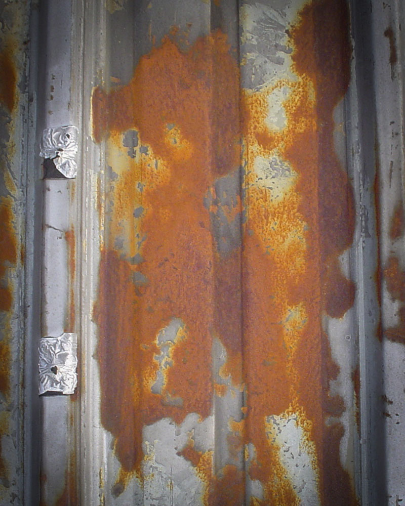 corroded metal roof restoration